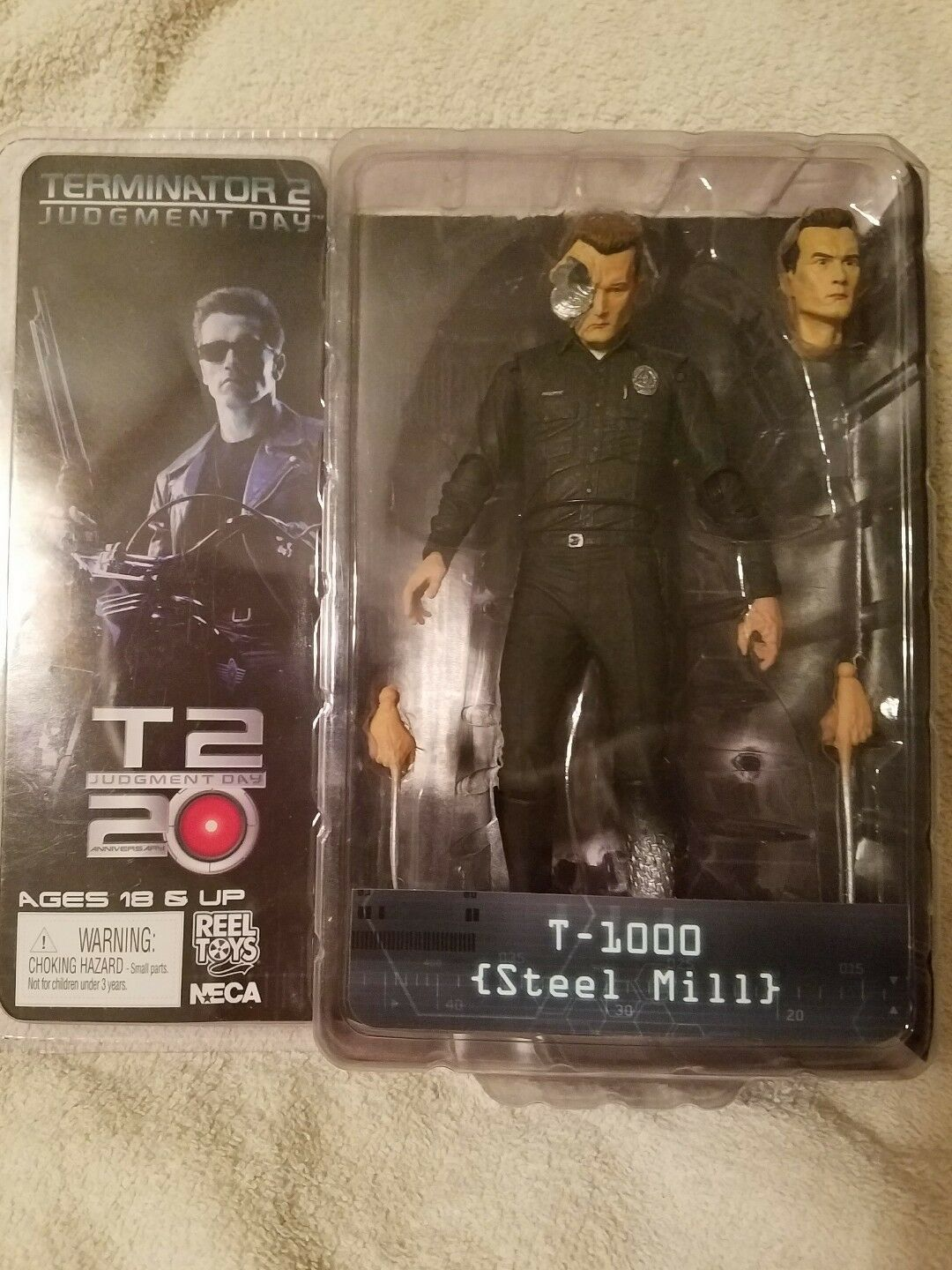 Collectible T-1000 (Steel Mill)Terminator T-2 Judgement Day Action Figure