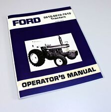 ford 7810 7910 8210 tractor parts assembly manual catalog exploded rh ebay com Ford 8730 Ford 8730