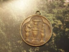 Antique Metal Medal Merit Prize Chess