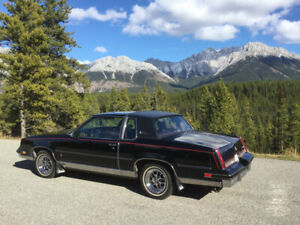 1986 cutlass supreme brougham very rare