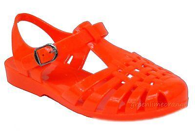 New Women Summer Jelly Slingback Cut Out Flat Heel Sandals