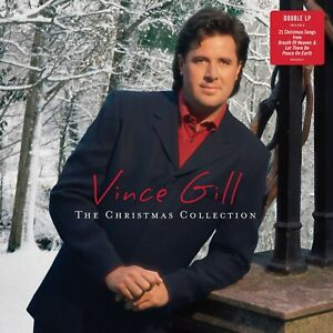 Vince-Gill-CHRISTMAS-COLLECTION-21-Essential-Holiday-Songs-MUSIC-New-Vinyl-2-LP
