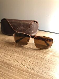 7a96b2dc05 Image is loading Fossil-Aviator-Sunglasses
