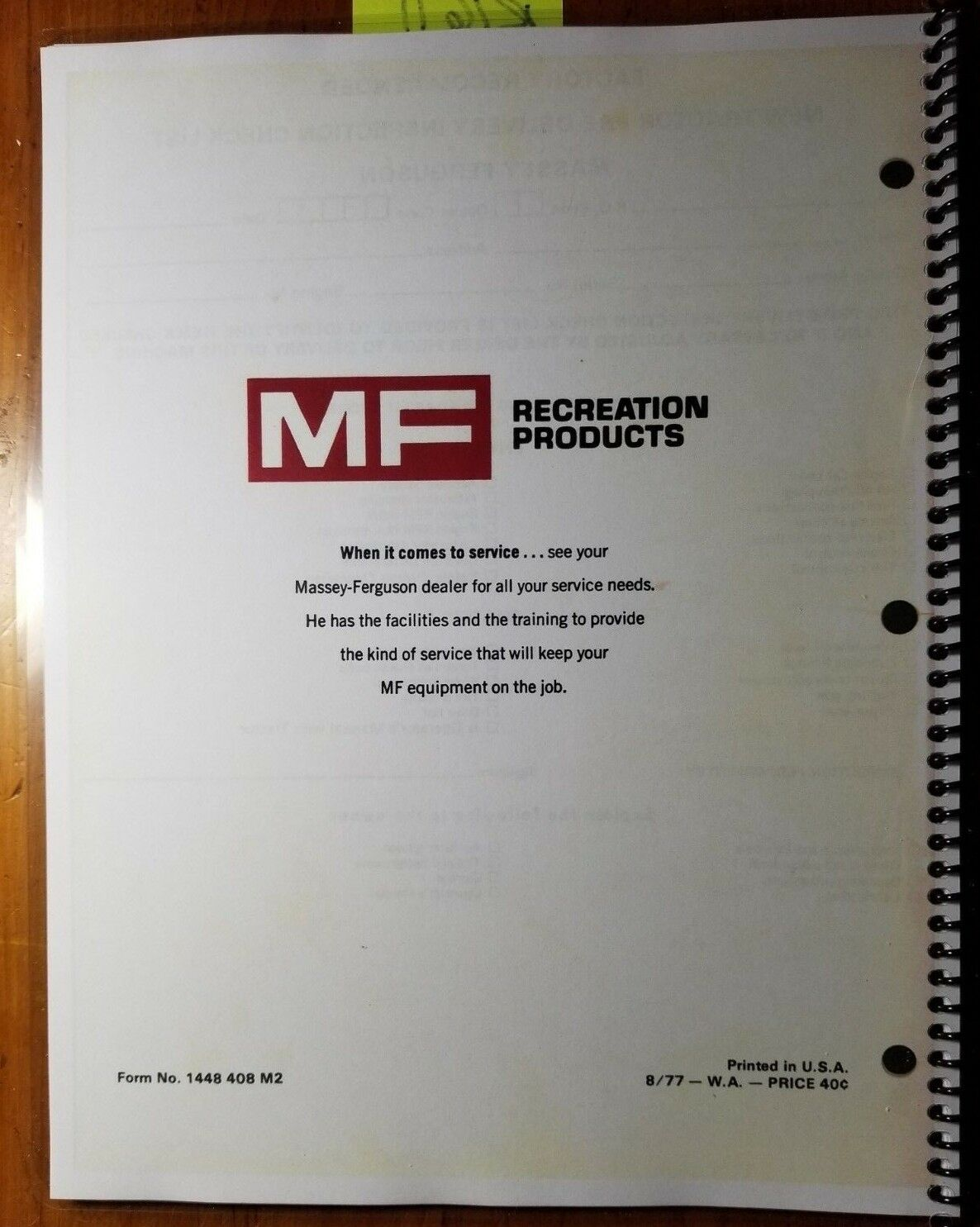 Massey Ferguson MF 1200 Garden Tractor Mower Operators Manual Mf1200 | eBay