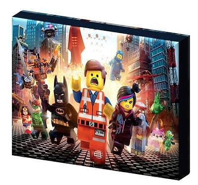 THE LEGO MOVIE CANVAS PICTURE-3 SIZES TO CHOOSE A5, A4, A3