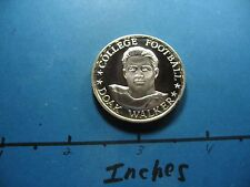 Doak Walker Smu Mustangs Detroit Lions Nfl 1971 Top Performers Silver Coin Rare