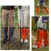 Breathable Outdoor Walking Climbing Snow Ski Legging Gaiters Waterproof Boot