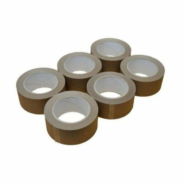 """HEAVY DUTY 36 Rolls Parcel//Packing Tape 48mm 2/"""" x 66m MANULI Extra Wide CLEAR"""