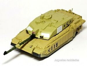 1-72-CHALLENGER-II-Tanque-diecast-metal-tank-made-by-IXO
