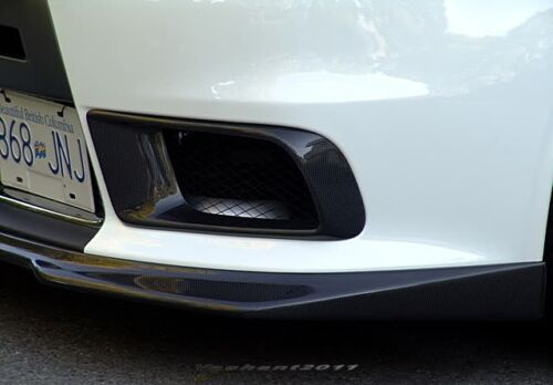 Carbon Kit For Mitsubishi Evolution EVO 10 X RA-Style Front Bumper Air Duct