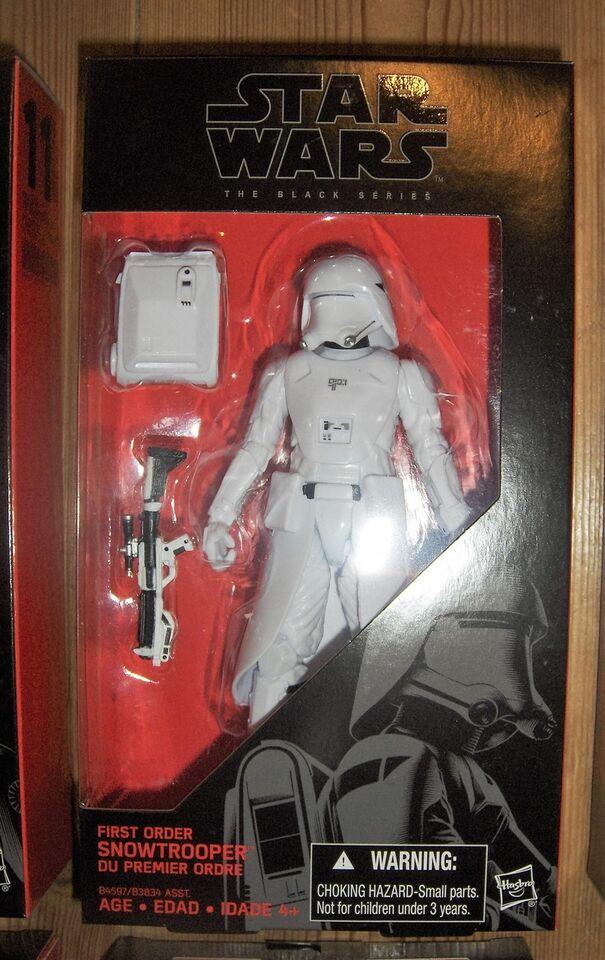 "Star Wars 6"" figurer, Hasbro Black Series"