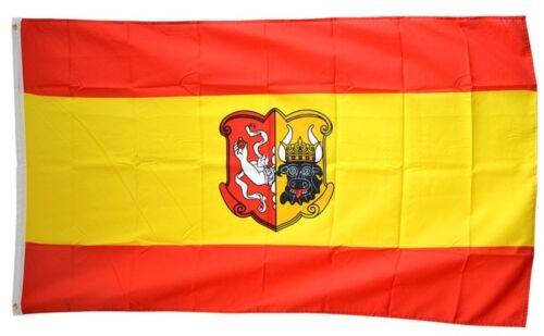 Drapeau Allemagne Ville de Neustrelitz Drapeau neustrelitzer Hissflagge 90x150cm
