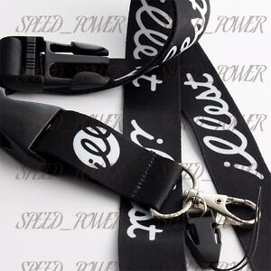 JDM Racing Drift illest Lanyard Neck Cell Phone Key Chain Strap Quick Release