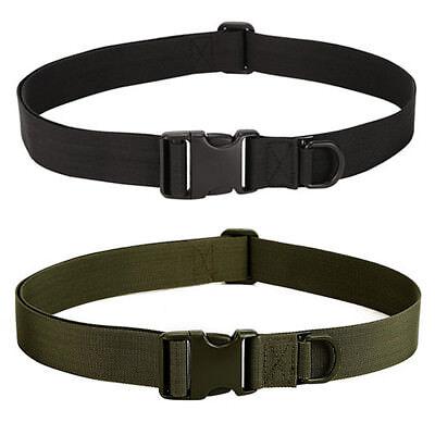 Mens Camping Hiking Nylon Tactical Military Waist Canvas Belts Cummerbunds Strap