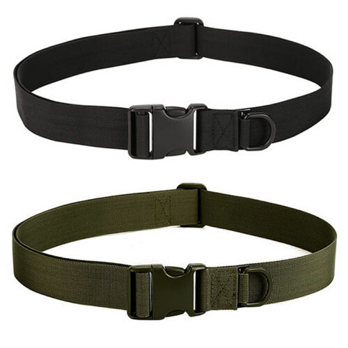 Survival Adjustable Tactical Belt Combat Military Emergency Rescue Rigger Strap