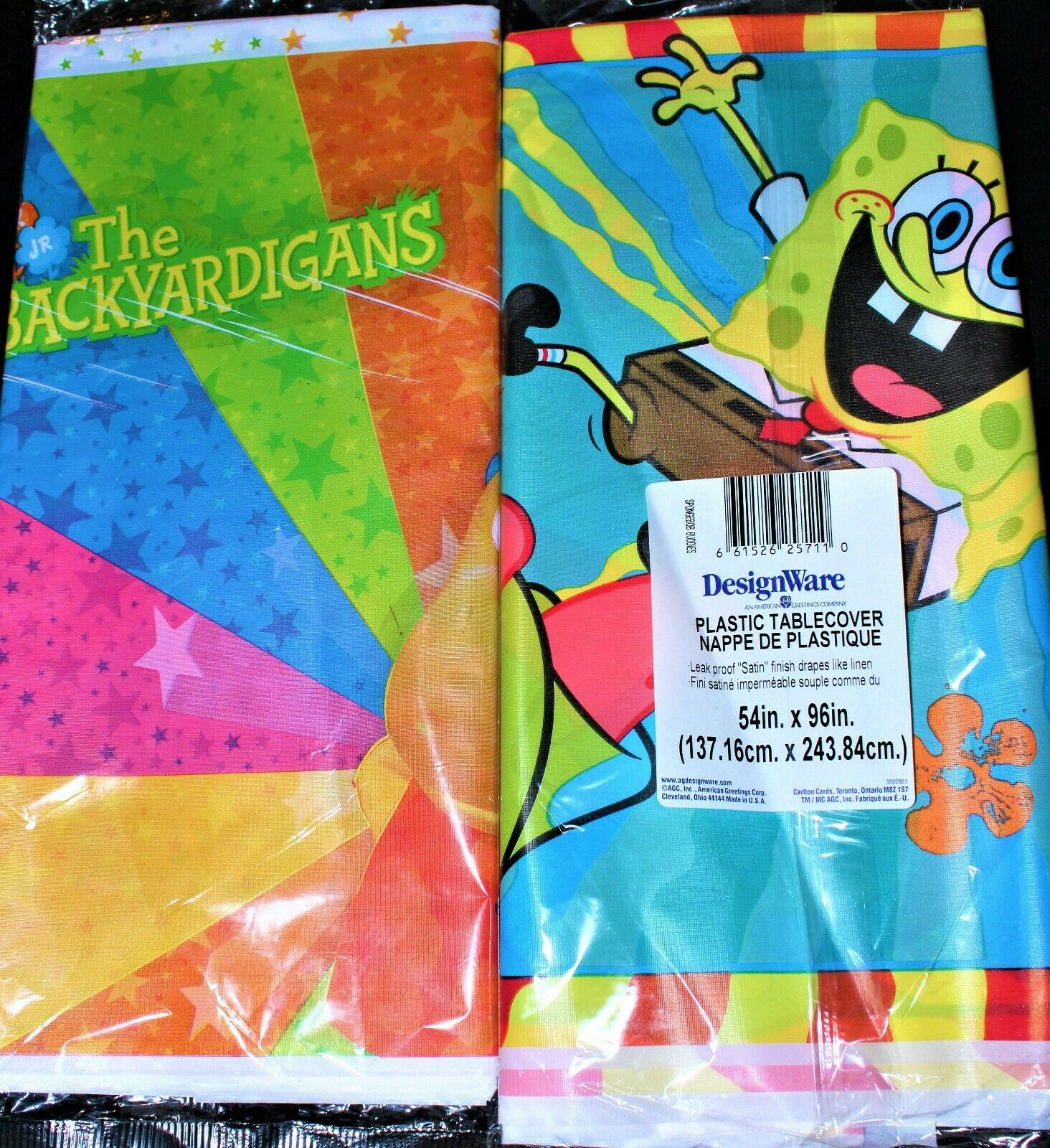 Backyardigans DesignWare Plastic Tablecover Tablecloth Birthday Party New 54x96