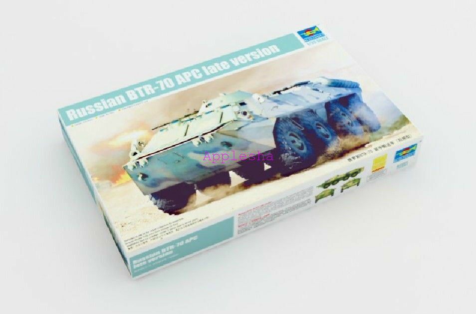 Trumpeter 01591 1 35 Russian BTR-70 APC Late Version