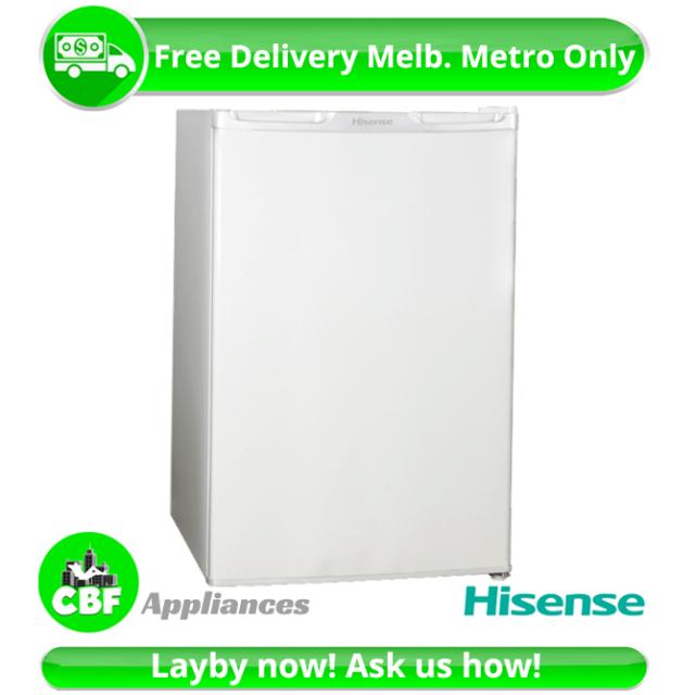 Tiny Home Hisense HR6BF121 Bar Mini Fridge 120L Refrigerator Cooler Freezer Whte