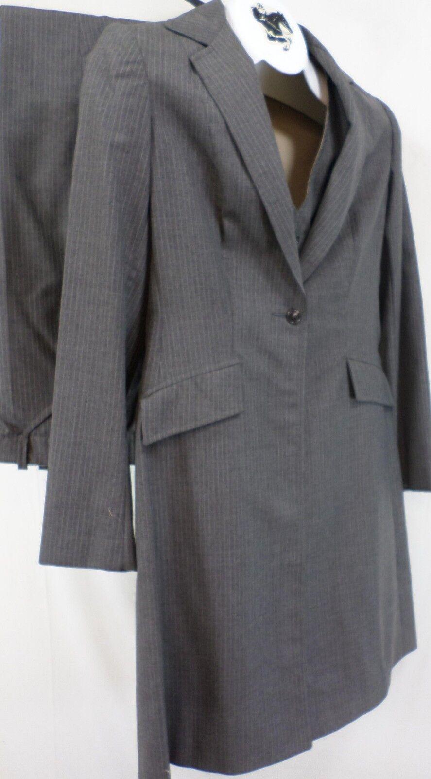 Reed Hill Ladies Saddleseat suit 3 pc Medium Brown wool blend 18 - Made in USA