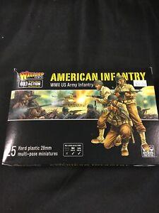 Bolt-Action-American-Infantry-25-Miniatures-Nib