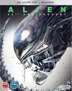 Alien-4K-Ultra-HD-40th-Anniversary-amp-Blu-ray-New-With-Fast-And-Free-Delivery