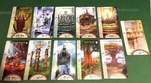 NEW-AEG-Mystic-Vale-Havens-11-Promo-Card-Lot-Campaign-Inc-Gaia-039-s-Sanctuary