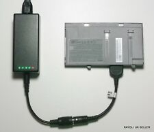 External Laptop Battery Charger for DELL Latitude D400, 9T119 9T255 0U003 7T093