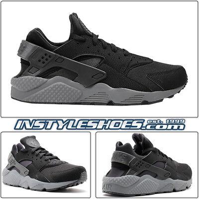 Nike Air Huarache Black Dark Grey kith 318429-010