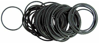 Angemessen 32-50mm 100 Flat Gaskets 0 Rings Seal Rubber Washers For Watches Assorted