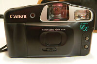 Vintage Canon Snappy LX Point & Shoot 35mm Camera Very Good Condition
