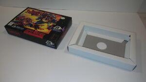 SWAT-KATS-Super-Nintendo-RARE-BOX-only-SNES-Authentic-SUPER-NICE