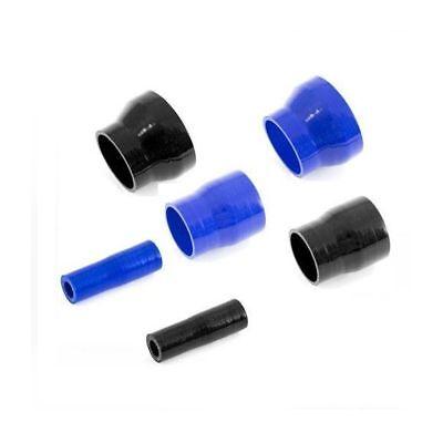 JJC 90 Degree Silicone Hose Elbow 51-38mm Black Reducer Rubber Coolant Rad Pipe