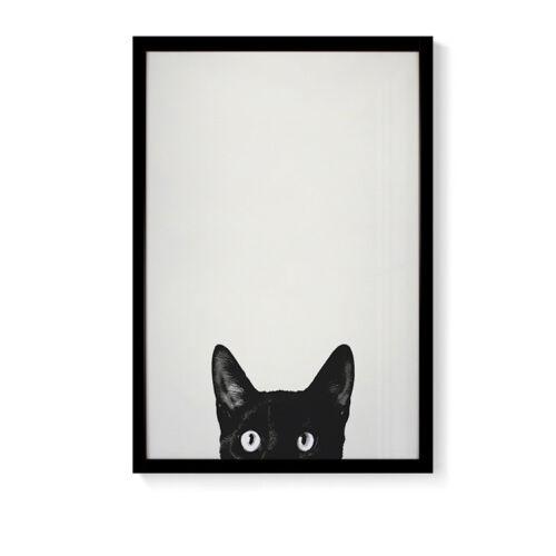 Leinwandbild Wandbild mit Rahmen Bild Dekorative Kunstdruck Tiere