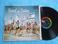 Israel Today- Songs In Hebrew by The Trio Aravah - Record Album Vinyl Lp