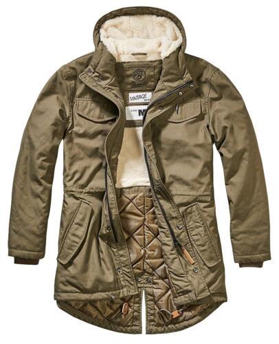 Brandit Marsh Lake Winter Jacket 9442 Parka Teddyparka Fishtail Field