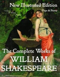 HUGE-Hardcover-Complete-Works-of-William-Shakespeare-Illustrated-Boutcher
