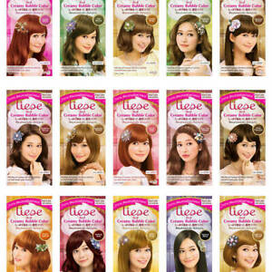 LIESE-Prettia-Kao-Japan-Foamy-Creamy-Bubble-Hair-Dye-Color-Dying-Kit-NEW