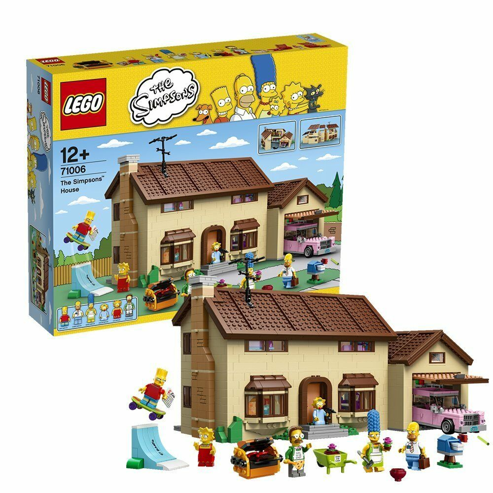 LEGO the simpsons 71006 le simpsons maison house Bart Lisa marge Homer Maggie