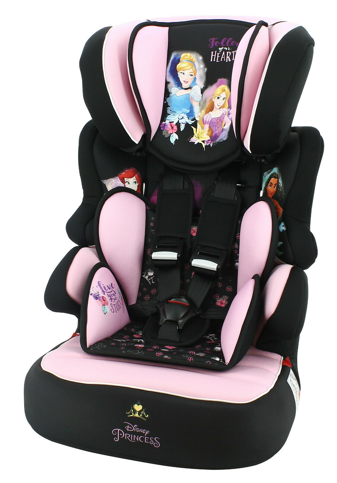 TT Nania Beline SP LX Group 1 2 3 Car Seat and High Back Booster Agora Carmin