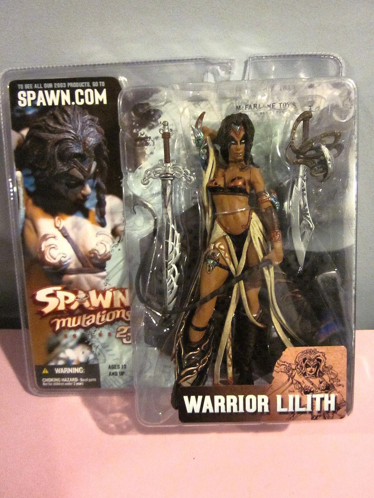 Spawn Mutations Series 23 Warrior Lilith Sealed