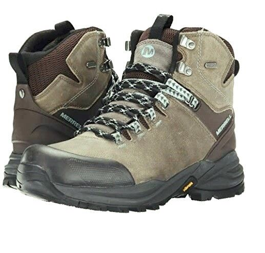 a8f15c9756b Merrell Phaserbound Waterproof Grey Hiking Trail BOOTS 6.5 Womens RARE