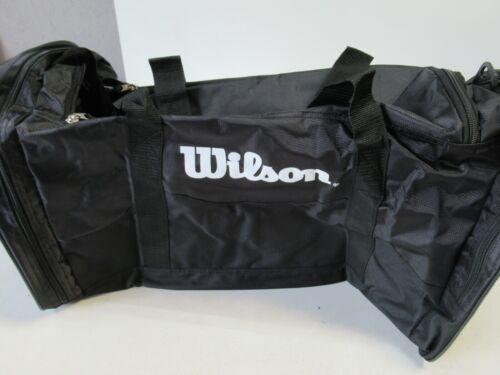 "BLACK//BLACK Details about  /**NWOT** WILSON 19/""X10/""X10/"" MULTI PURPOSE DUFFLE BAG W// STRAP"