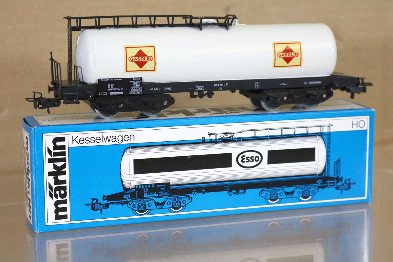 Marklin Märklin 4648.2 Db Gasolin Hannover 022-7 Kesselwagen Bogie Réservoir