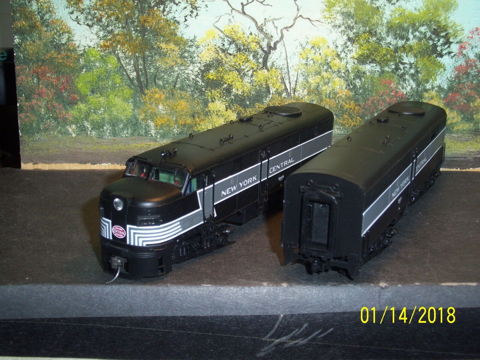 Proto 2018 HO Scale 8363/64 FA2/FB2 Nueva York Central (A&B) 1045/3323 Xx