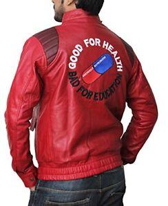 Red Manga by Katsuhiro Black AKIRA KANEDA Leather Jacket with Capsule /& text