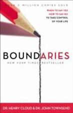 Boundaries : When to Say Yes, How to Say No, to Take Control of Your Life by Henry Cloud and John Townsend (2002, Paperback)