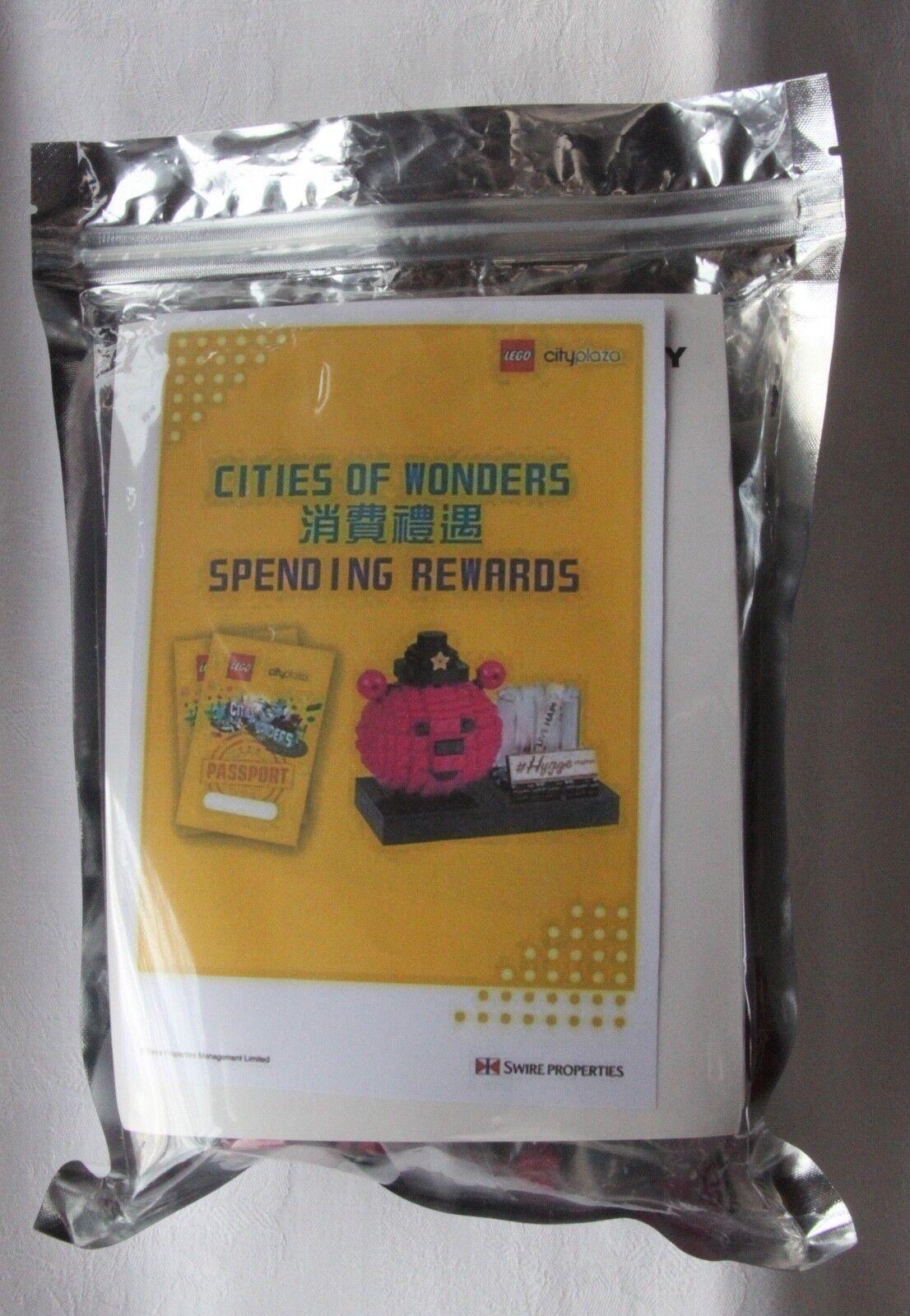 LEGO Beary Happy Cities of Wonders limitierte Certified Professional  limitierte Wonders Edition 20d05c