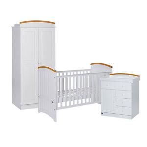 Tutti Bambini Barcelona 3 Piece Nursery Furniture Set Ebay