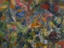 Peinture Tableau Abstrait huile sur toile 70cm/70cm Painting Art Oil  A Picard