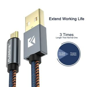 Tipo-C-USB-Cable-cargador-de-datos-rapida-Plomo-Para-Samsung-Galaxy-Note-8-S8-Huawei-P10